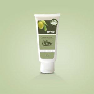 Creme olive - mãos